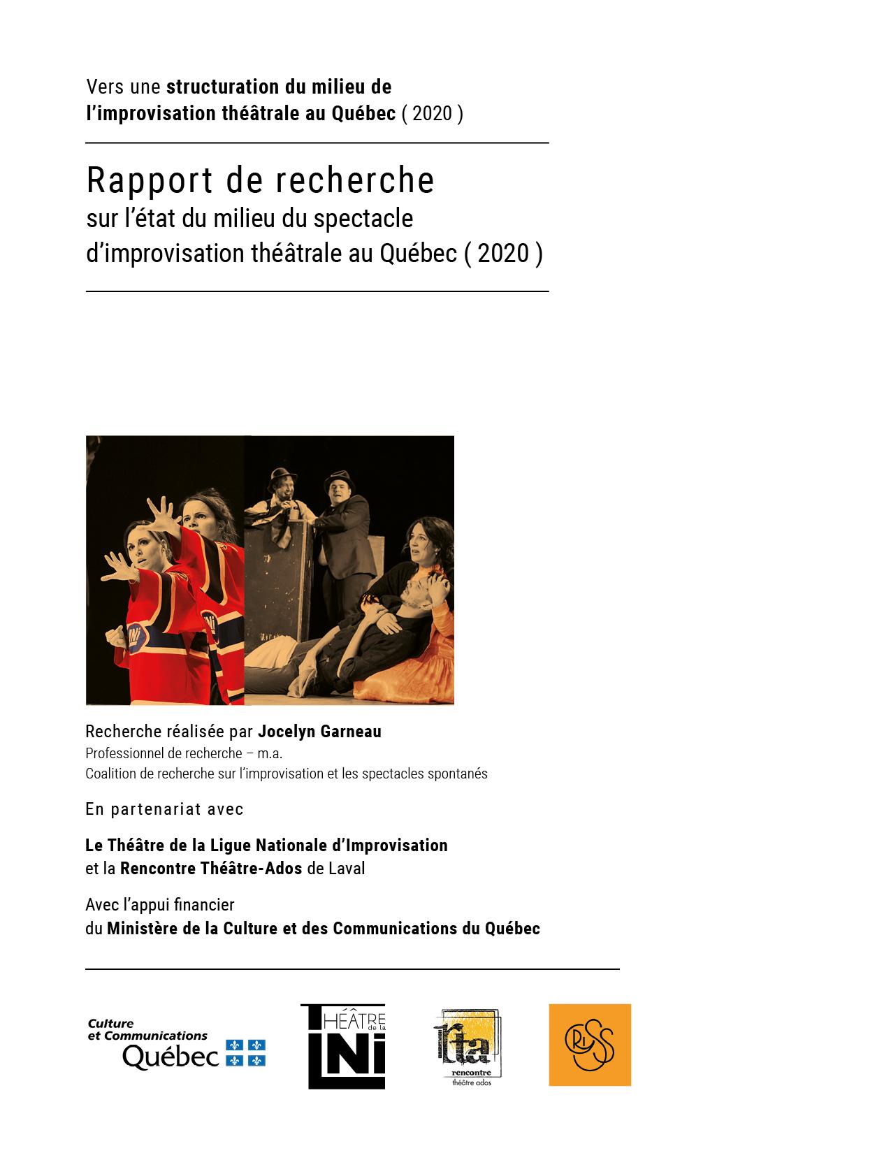 cover RAPPORT de recherche etat milieu mai2020