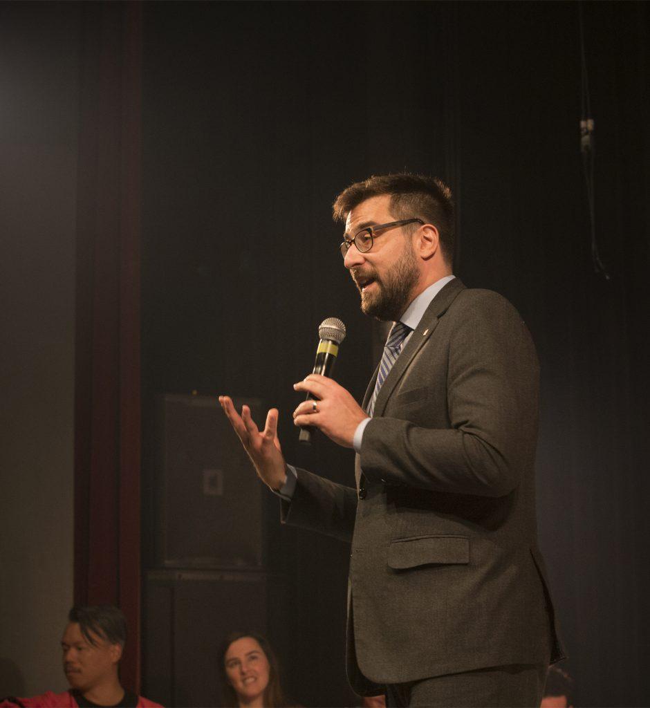 Me Alexandre Forest, nouveau président du conseil d'administration du Théâtre de la LNI